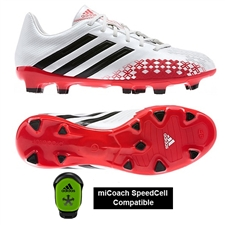 Adidas Predator Absolion LZ TRX FG Soccer Cleats (Running White/Black/Hi-Res Red)