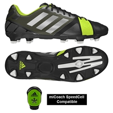Adidas Soccer Cleats | FREE SHIPPING | Q33671 |Adidas Nitrocharge 2.0 TRX FG Soccer Cleats (Black/MetSilver/Electricity)