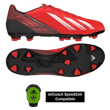 Adidas F30 TRX FG Soccer Cleats (Infrared/Running White/Black)