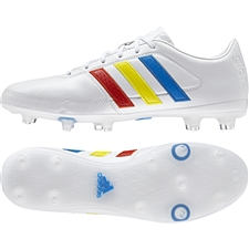 Adidas Gloro 16.1 FG Soccer Cleats (White/Multi)