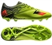 Adidas Messi 15.2 FG/AG Soccer Cleats (Semi Solar Slime/Solar Red/Black)