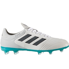 Adidas Copa 17.2 FG Soccer Cleat (White/Onix/Clear Grey)