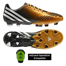 Adidas Predator LZ TRX FG Soccer Cleats (Bright Gold/White/Black)