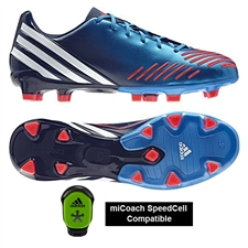Adidas Predator Absolion LZ TRX FG Soccer Cleats (Bright Blue/Running White/Infrared)