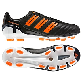 Adidas adiPower Predator TRX FG Soccer Cleats (Black/Warning/White)