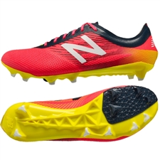 New Balance Furon 2.0 Pro (Wide) FG Soccer Cleats (Bright Cherry/Galaxy/Firefly)