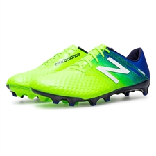 New Balance Furon Pro FG WIDE 2E Soccer Cleats (Toxic/Pacific/Black)