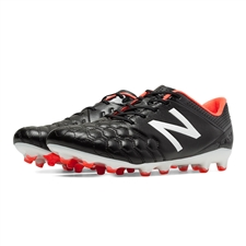 New Balance Visaro Pro K-Lite FG Soccer Cleats (Black/White)