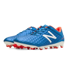 New Balance Visaro Pro (Wide) FG Soccer Cleats (Bolt/Flame/White)