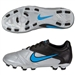 Nike CTR360 Libretto II FG Soccer Cleats (Metallic Platinum/Blue Glow/Black)