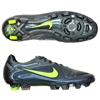 Nike CTR360 Maestri II FG Soccer Cleats (Dark Shadow/Volt/Metallic Dark Grey)