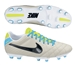Nike Tiempo Mystic IV FG Soccer Cleats (Light Bone/Volt/Black)