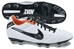 Nike Tiempo Mystic IV FG Soccer Cleats (White/Total Crimson/Black)