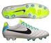 Nike Tiempo Legend IV FG Soccer Cleats (Light Bone/Volt/Black)