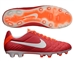 Nike Tiempo Legend IV FG Soccer Cleats (Sunburst/Total Crimson/White)