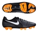 Nike CTR360 Trequartista III FG Soccer Cleats (Dark Charcoal/White/Bright Citrus)