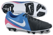 Nike CTR360 Trequartista III FG Soccer Cleats (Black/Photo Blue/Pink Flash/White)