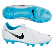 Nike CTR360 Trequartista III FG Soccer Cleats (White/Gamma Blue/Black)