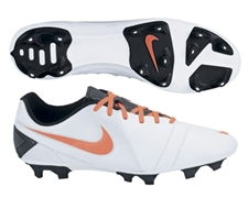 Nike CTR360 Trequartista III FG Soccer Cleats (White/Total Crimson/Black)