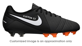 Nike CTR360 Maestri III FG CUSTOM Soccer Cleats (Dark Charcoal/Black/White)