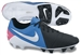 Nike CTR360 Maestri III FG Soccer Cleats (Black/Photo Blue/Pink Flash/White)