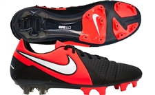 Nike CTR360 Maestri III FG Soccer Cleats (Black/White/Bright Crimson)
