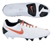 Nike CTR360 Maestri III FG Soccer Cleats (White/Total Crimson/Black)