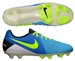 Nike CTR360 Maestri III FG Soccer Cleats (Current Blue/Black/Volt)