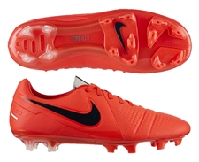 Nike CTR360 Maestri III FG Soccer Cleats (Bright Crimson/Black/Chrome)