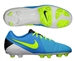 Nike CTR360 Libretto III FG Soccer Cleats (Current Blue/Volt/Black)