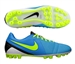 Nike CTR360 Maestri III Artificial Grass Soccer Cleats (Current Blue/Black/Volt)