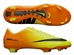 Nike Mercurial Veloce FG Soccer Cleats (Volt/Bright Citrus/Black)