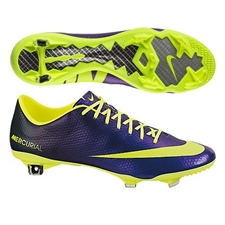 Nike Mercurial Vapor IX Soccer Cleats (Electro Purple/Black/Volt)