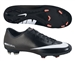 Nike Mercurial Victory IV FG Soccer Cleats (Black/White/Dark Charcoal/Atomic Red)