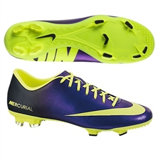 Nike Mercurial Victory IV FG Soccer Cleats (Electro Purple/Black/Volt)