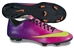 Nike Mercurial Victory IV FG Soccer Cleats (Fireberry/Red Plum/Black/Electric Green)