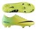 Nike Mercurial Victory IV FG Soccer Cleats (Vibrant Yellow/Black/Neo Lime)
