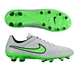 Nike Tiempo Genio Leather FG Soccer Cleats (Wolf Grey/Black/Green Strike)