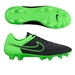 Nike Tiempo Legend V FG Soccer Cleats (Black/Green Strike)