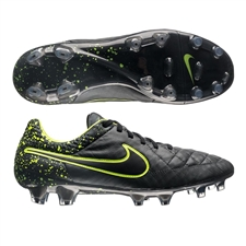 Nike Tiempo Legend V FG Soccer Cleats (Anthracite/Black/Volt)