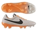 Nike Tiempo Legend V FG Soccer Cleats (Desert Sand/Atomic Orange)