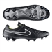 Nike Tiempo Legend V FG Soccer Cleats (Black/Volt/White)