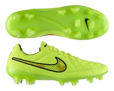 Nike Tiempo Legend V FG Soccer Cleats (Volt/Hyper Punch/Black)