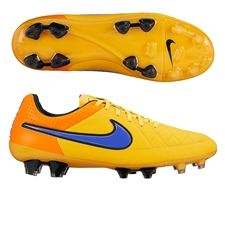 Nike Tiempo Legend V FG Soccer Cleats (Laser Orange/Total Orange/Volt/Persian)