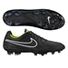 Nike Tiempo Legacy FG Soccer Cleats (Black/Volt/White)