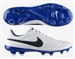 Nike Tiempo Legacy FG Soccer Cleats (White/Treasure Blue/Black)