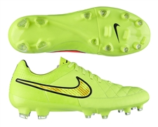 Nike Tiempo Legacy FG Soccer Cleats (Volt/Hyper Punch/Black)