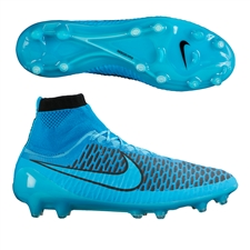 Nike Magista Obra FG Soccer Cleats (Turquoise Blue/Black/Blue Lagoon)