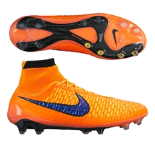 Nike Magista Obra FG Soccer Cleats (Total Orange/Laser Orange/Persian Violet)