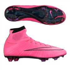 Nike Mercurial SuperFly IV FG Soccer Cleats (Hyper Pink/Black/Hyper Punch)